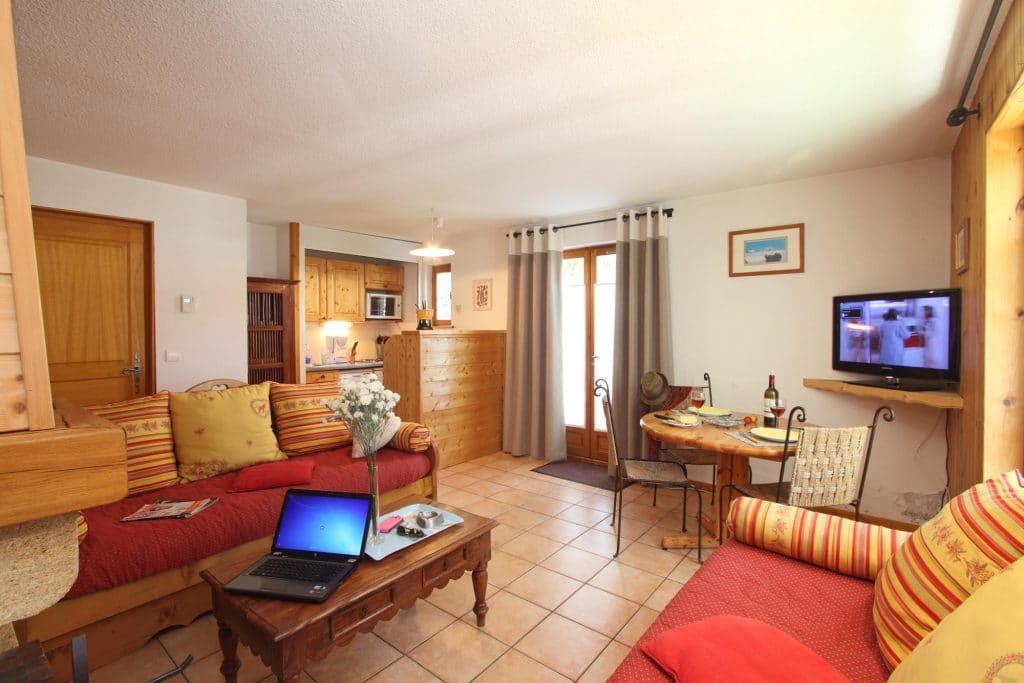 T.2 - 40m² chambre séparée